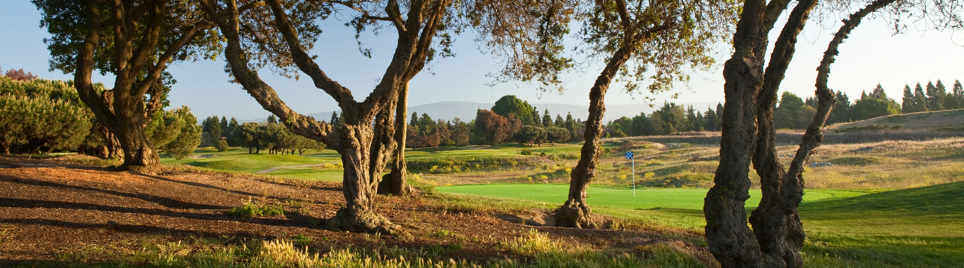 Enjoy some of the finest golf scenery in the Silicon Valley